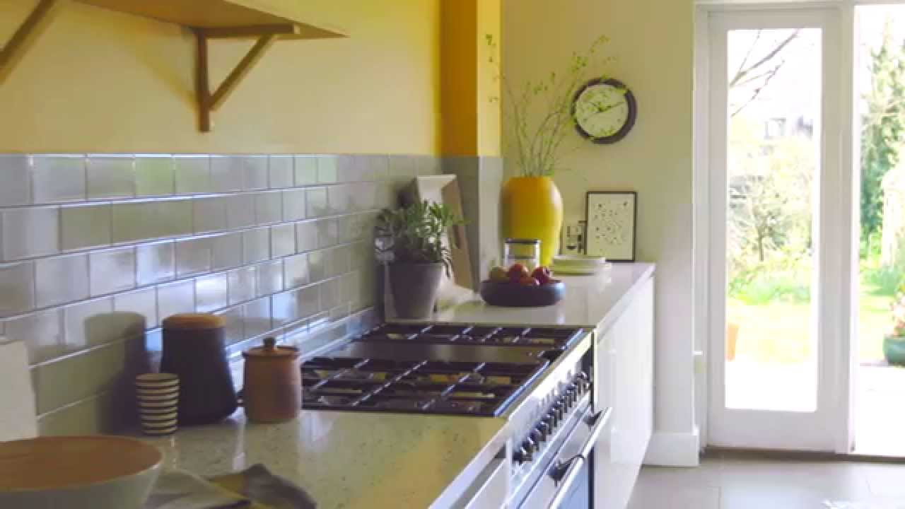 Kitchen Ideas Design For An Open Plan Kitchen With Dulux
