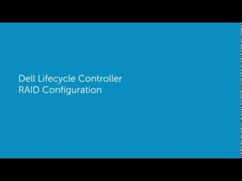 Dell Lifecycle Controller RAID Configuration - YouTube