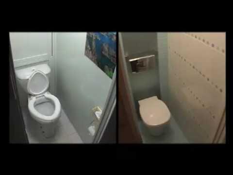 Видеозапись Ремонт ванной комнаты и туалета - 2