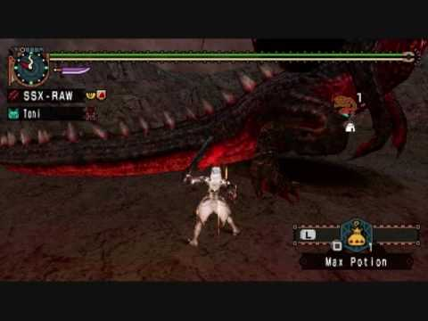Crimson Fatalis DS Divine Ultimus MHFU MHP2G