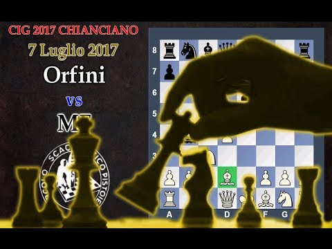 CHIANCIANO CIG U16 - Orfini vs MF - Le Mosse che segnano il Destino - Scacchi