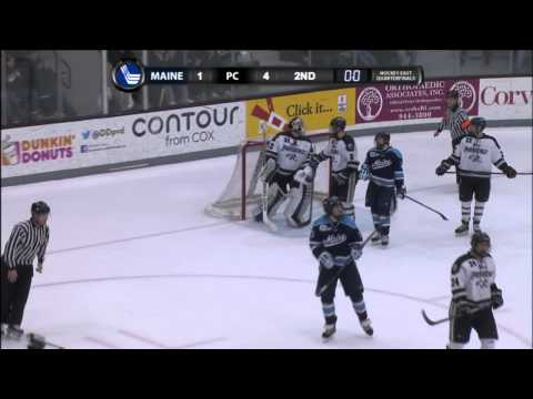 Maine at Providence Highlights - Hockey East Quarterfinals - 03/15/2014