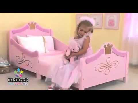 Princess Toddler Bed KidKraft Girls Pink