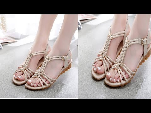 Beautiful Ladies Flat Shoes Collection