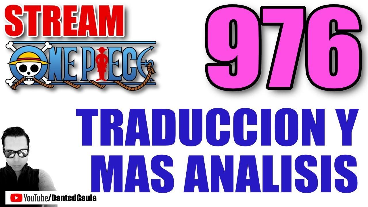 One Piece 976 Discusion y Traduccion correcta ft. @VinsmokeSanjiOP
