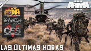 MISIÓN #1 CAMPEONATO SIMULACIÓN 2018  | LAS ÚLTIMAS HORAS | ArmA 3 Gameplay Español (1440p60 HD)