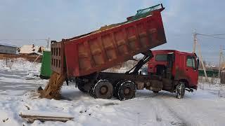 Доставка песка самосвалом 25тонн.  iv-spectehnika.ru(, 2017-12-22T14:23:12.000Z)