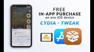 Cydia Tweak To Get In-App Purchases for FREE iOS 12 on iPhone, iPad, iPod Touch