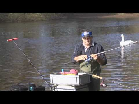 River Feeder Fishing on the Wye - Part One. (www.shakespeare-fishing.co.uk)