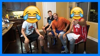 FUNNIEST TRY NOT TO LAUGH OR GRIN CHALLENGE!! Ft. JessertheLazer Kris London & TDPresents