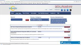 How to order a vitamin D lab test online