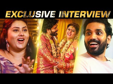 Namitha & Veera Share their Love Life & After Marriage Plans | Fun Couple Interview | US 147
