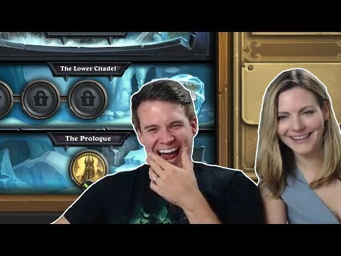 (Hearthstone) Knights of the Frozen Throne Prologue with Brian and Natalie