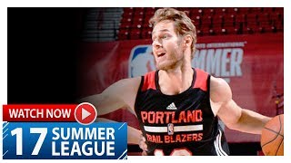 Jake Layman Full Highlights vs Spurs (2017.07.15) Summer League - 23 Pts, 7 Reb