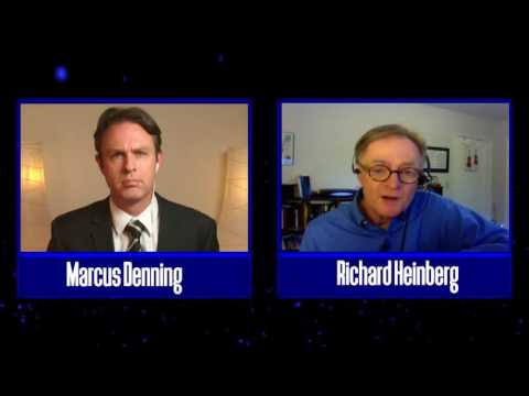 Richard Heinberg discusses peak oil and the global economic
