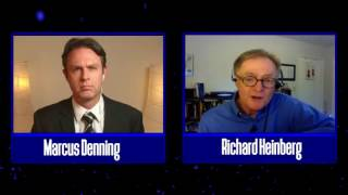 Richard Heinberg discusses peak oil and the global economic crises