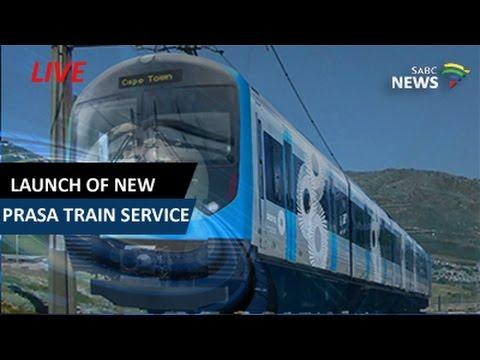 President Jacob Zuma launches new Prasa Train Service
