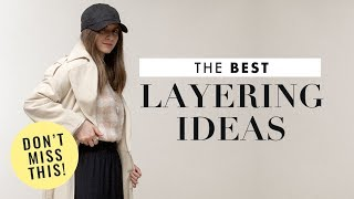 How to Style Layers - Chic Fall Outfits Ideas + Lookbook