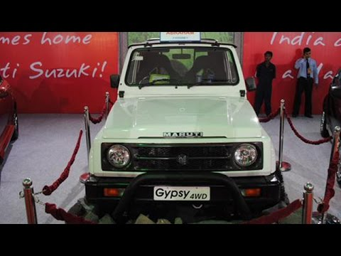Indian Army Orders 2071 Units Of The Maruti Suzuki Gypsy