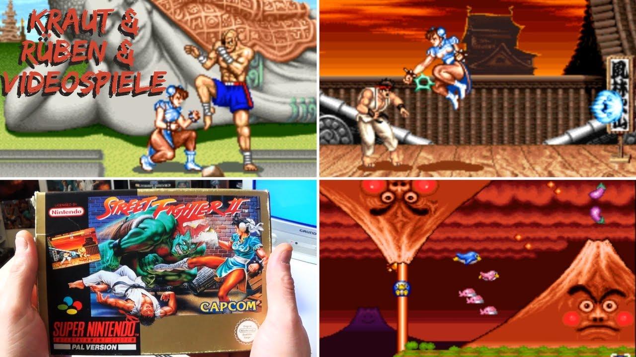 Street Fighter II (Super Nintendo) +Parodius Review | Kraut & Rüben & Videospiele #88