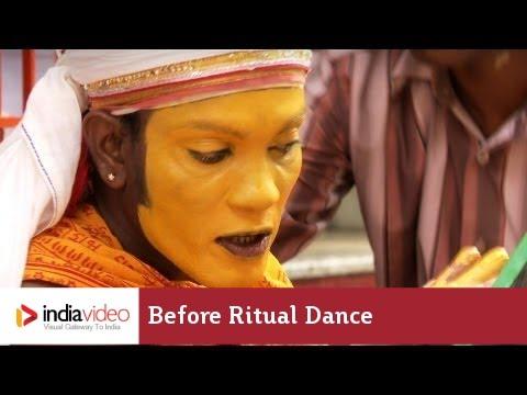 Before Ritual Dance at Brahma Baidarkala Temple