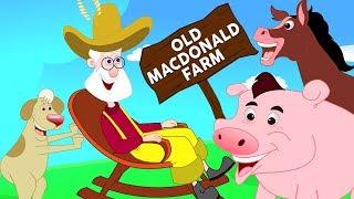 У старого Макдональда была ферма | русский мультфильмы для детей | Old Macdonald | Kids Rhyme Russia