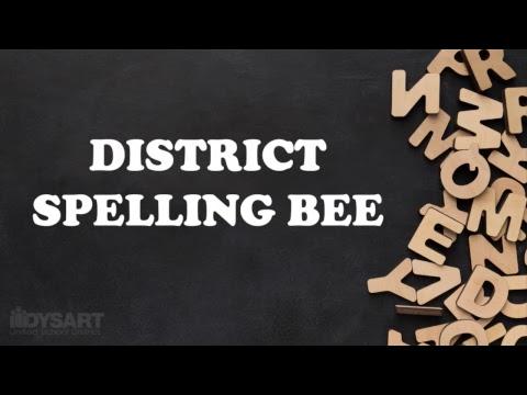 Dysart Unified School District Spelling Bee 2018-2019