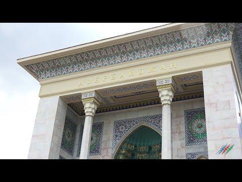 Эксклюзивные кадры внутри павильона Азербайджан на ВДНХ накануне открытия. Репортаж