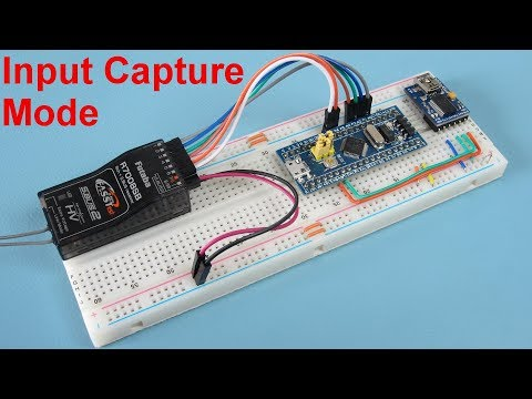STM32 for Arduino - Connecting an RC receiver via input capture mode