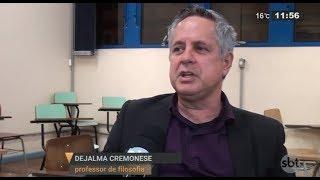 """Baixar """"Felicidade"""" vira tema de disciplina na UFSM   SBT Rio Grande - Dia 23/08/2018"""