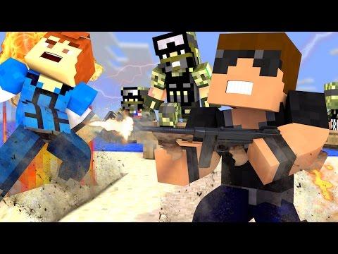Minecraft Battlefield - D-DAY! ( Minecraft Roleplay #3 )