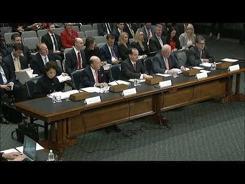 Cabinet Secretaries Deliver Opening Statements in Hearing on America's Infrastructure