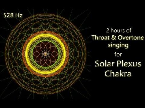 2 hours Throat & Overtone singing for Solar Plexus Chakra (528 Hz)