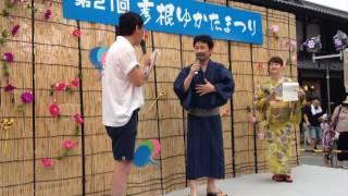 2016年7月17日 滋賀県彦根市にておこなわれた「第21回彦根ゆかたまつり...