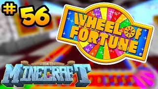 How to Minecraft: WHEEL OF FORTUNE CASINO! (56) - w/ THE PACK!