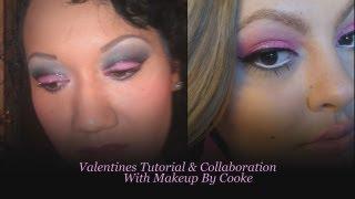 Valentine's Collaboration Tutorial with MakeupByCookie