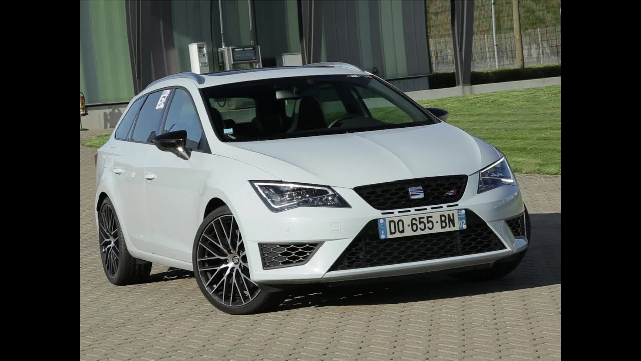 essai seat leon st cupra 280 dsg6 2015 youtube. Black Bedroom Furniture Sets. Home Design Ideas