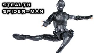 Marvel Legends STEALTH SPIDER-MAN Far From Home Action Figure Review