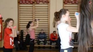 Открытый урок физкультуры в СПБГАСУ