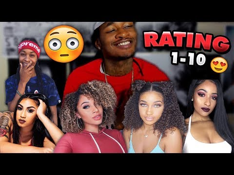 RATING FEMALE YOUTUBERS 1-10  *Uncensored* ft. Queen Naija, Kennedy Cymone, Taylor Girlz +