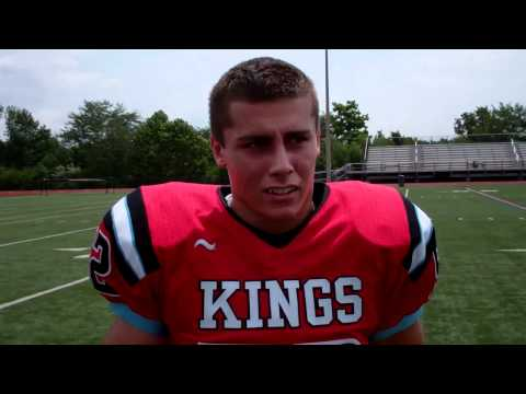 Sean Horan - Knights All-State LB and 2 year captain