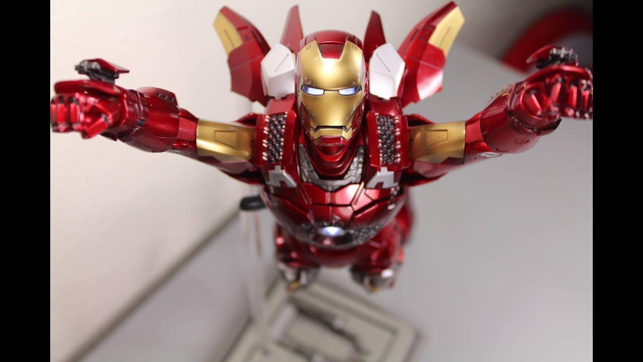 Marvel The Avengers Iron Man et le Hulk Collectible Figurines Set Nouveau