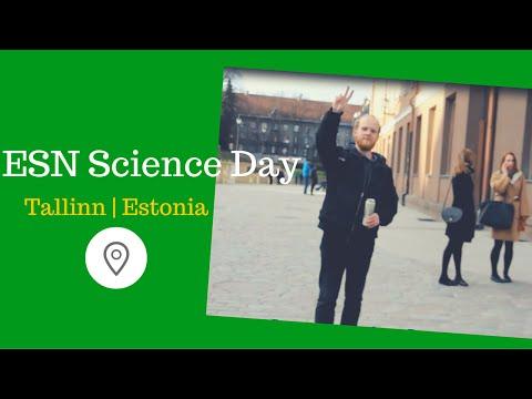 """Trip to Tallinn / ESN Tartu """"Science Day"""""""
