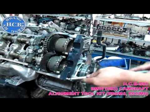 S85 BMW E60/M5, E63/M6, Двигатели (S85). Инструменты для фиксации положения датчиков  распредвалов.