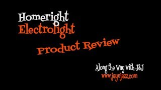 HomeRight ElectroLight - Product Review