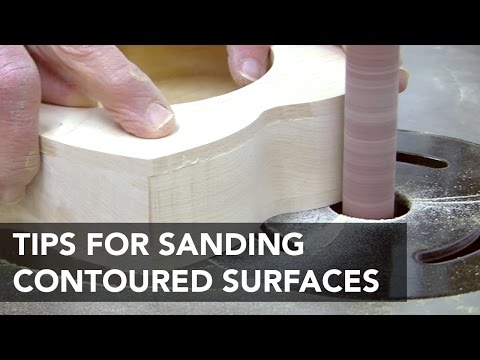 Best Sanders and Techniques for Contoured Surfaces