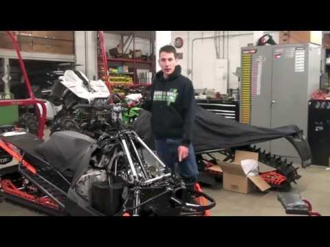 Airbox Modification When Installing Boyesen RAD53-2 Reeds On A 2012-2015 Arctic Cat 800