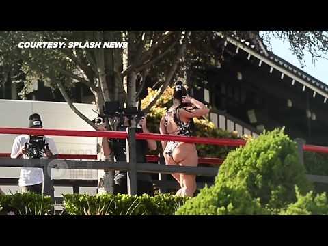 Ashley Graham Bikini PHOTOSHOOT Behind The Scenes   http://bit.ly/2HOChP6