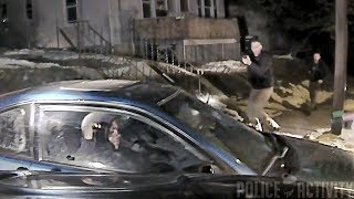 """Police Dashcam Video of Shooting That Killed Rapper Zoe """"Gangstalicious"""""""