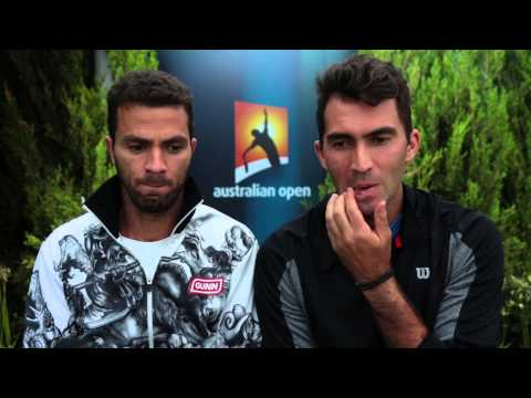 Melbourne 2015 Wednesday Rojer Tecau Interview